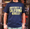 【UC BERKELEY】プリントTシャツ -UNIVERSITY OF CALIFORNIA BERKELEY ネイビー