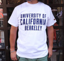 【UC BERKELEY】プリントTシャツ -UNIVERSITY OF CALIFORNIA BERKELEY ホワイト