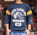 BUDDY 別注 Champion フットボールシャツ(SOUTH CAROLINA WARRIORS)
