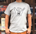 UNIVERSITY OF HAWAII Hang Loose Tシャツ